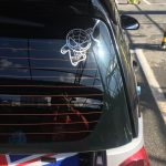 Cartoon Chibi Spiderman Car Decal Sticker waterproof reflective universal body sticker vinyl warning sticker motorcycle sticker car shape photo review