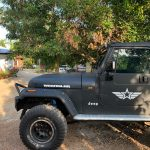 2pcs Body Jeep Cherokee Renegade Wrangler Decal Stickers Waterproof Reflective US Army Star USMC WW2 Vinyl Stickers photo review