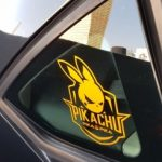 Cool Pikachu Car Decal Sticker Waterproof Reflective Exterior Decals for Mazda rx7 suzuki vw Beetle infiniti q50 bmw e46 photo review