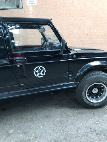 Swift decal Waterproof Five-Pointed Star Body Car Styling Reflective Vinyl Sticker Refitting Exterior Decals for SUZUKI JIMNY etc photo review