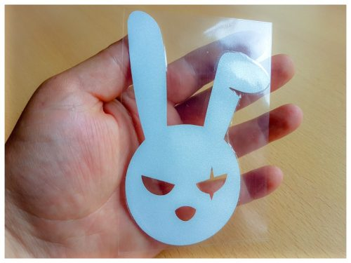 bad bunny decal evil easter bunny