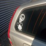 Cool mickey mouse decal
