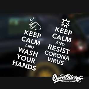 Wash Your Hands Decal Sticker