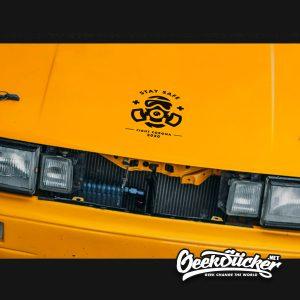 Covid-19 Decal sticker