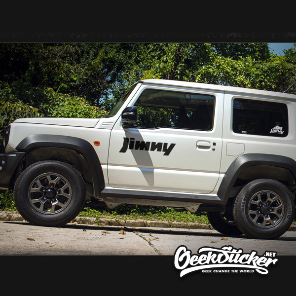 SUZUKI JIMNY car side door sticker-5