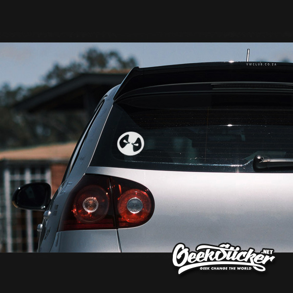 Deadpool car decal sticker