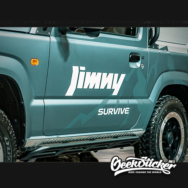 SUZUKI JIMNY car Side door sticker -2