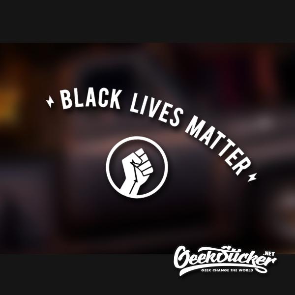 BLM Decals Black Lives Matter Sticker