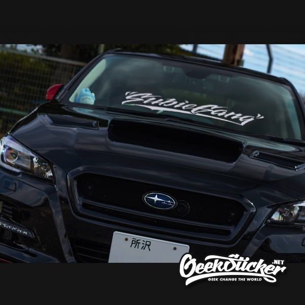 Subiegang Windshield Decal Car Sticker-3