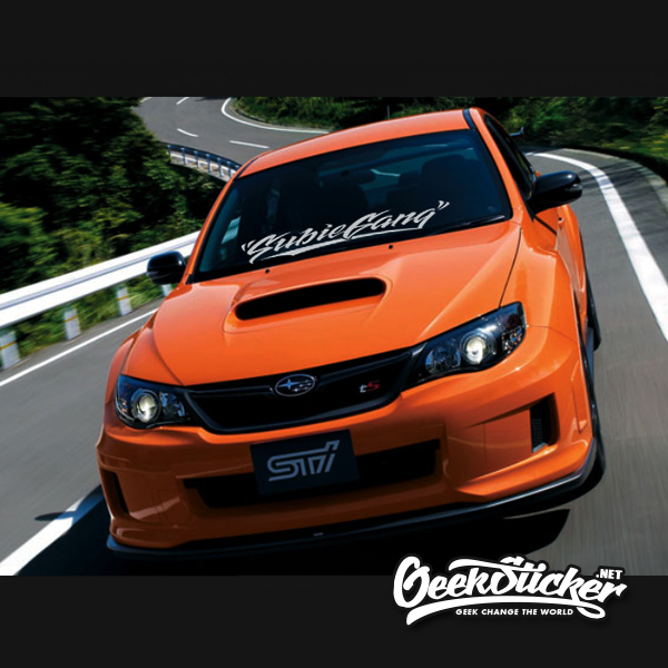 Subiegang Windshield Decal Car Sticker-4