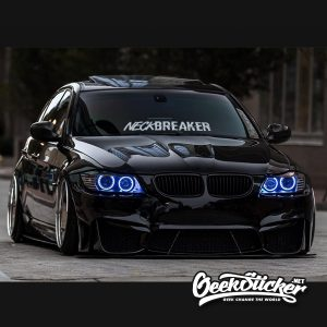 Neck Breaker Windshield Decal Sticker