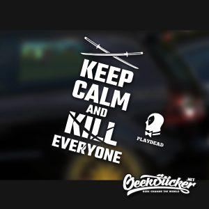 Deadpool Car Decal Sticker