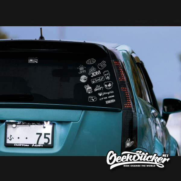 22PCS JDM Decal Stickers