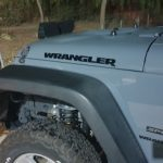 Jeep Wrangler Engine Hood Fender Side Wrangler Car Decal Stickers Waterproof Reflective 2pcs Car Styling character Sticker Decal photo review