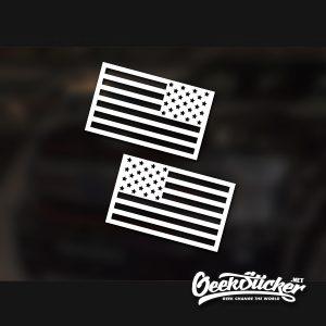 America Flag Decal Car Sticker