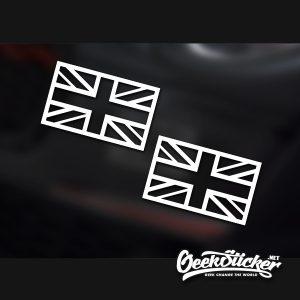 England Flag Sticker Decal Car Sticker